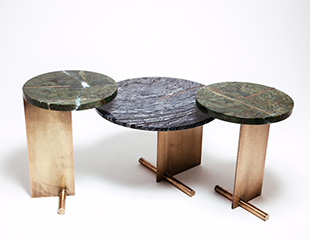 Lee Side and Coffee tables by Douglas & Douglas